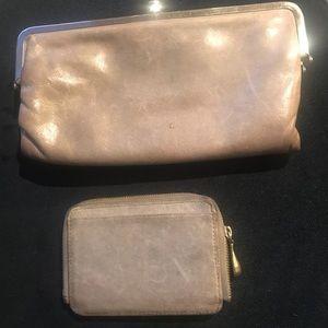 Hobo wallet and mini zip card